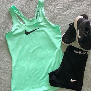 Ladies Nike Pro Dri-Fit Tank